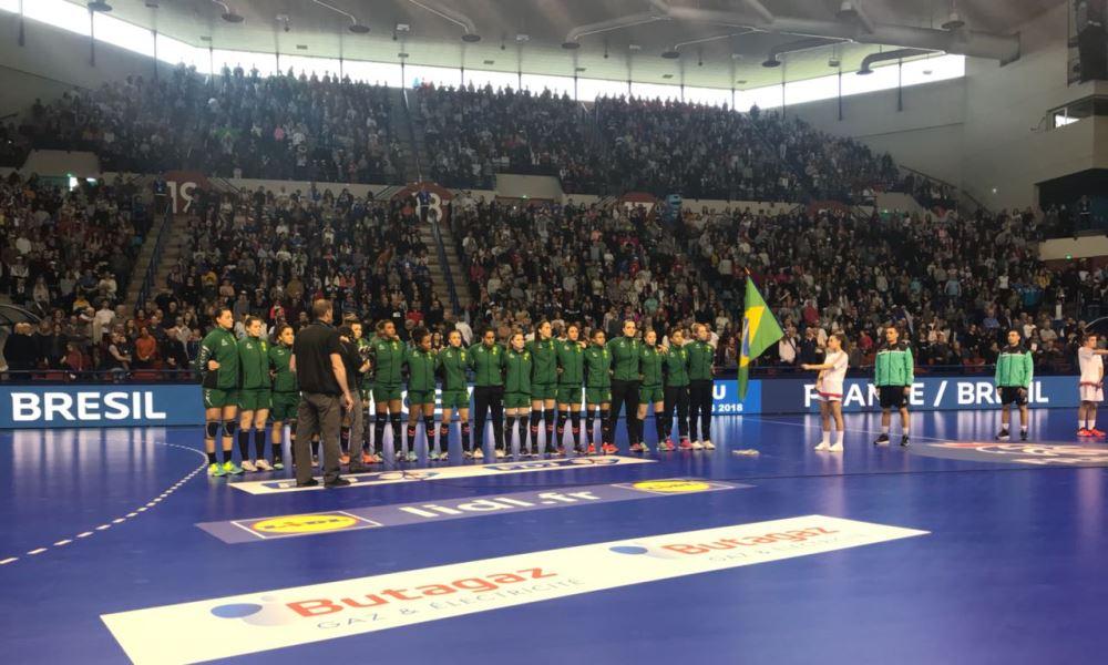 eed35151c37b6 Seleção feminina empata amistoso contra a França em 24 a 24