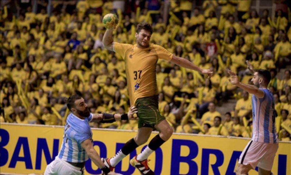 Colômbia X Brasil - Campeonato Pan-Americano de handebol