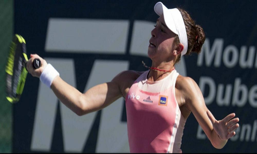 Alice Garcia é eliminada no simples e nas duplas em Portugal