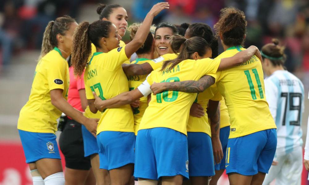 Futebol brasil e colombia