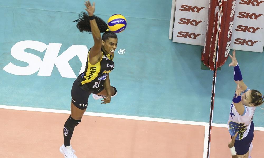 Fernanda Garay - seleção brasileira de vôlei - Olimpíada de Tóquio 2020