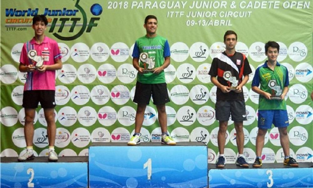 Guilherme Teodoro vence etapa do Circuito Mundial Juvenil