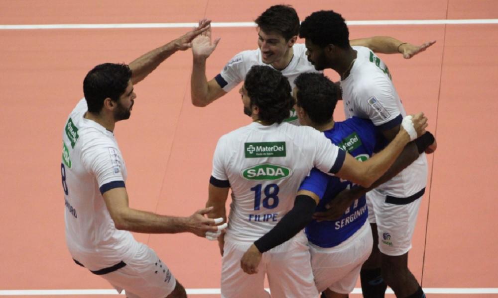 Taubaté X Cruzeiro - Superliga masculina de vôlei