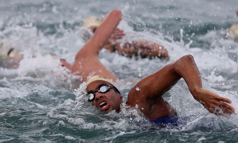 Com Ana Marcela, maratona aquática estreia no Maria Lenk