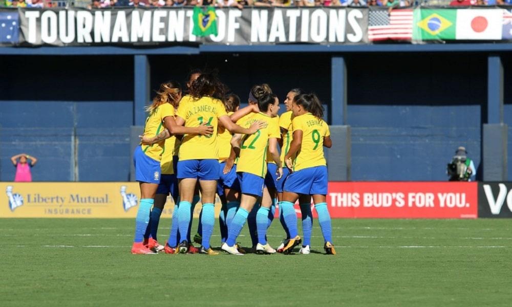 Confira a tabela do Torneio das Nações de Futebol Feminino 2018 74790b4f093a1