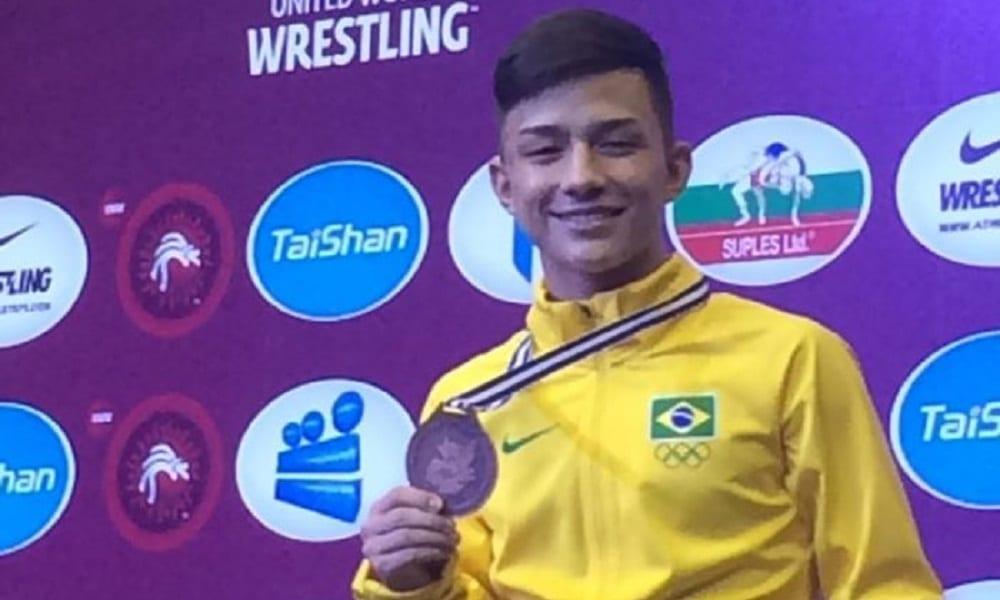 Helisson é bronze e Brasil encerra Pan Cadete com 4 medalhas