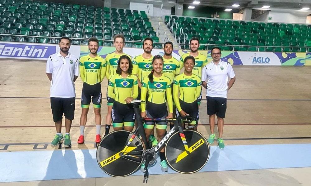 Seleção treina no Velódromo visando o Sul-Americano 2018