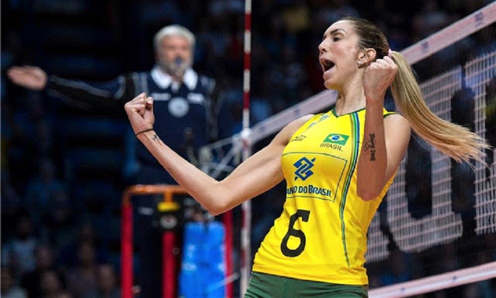 Thaisa comenta retomada de confiança em quadra após lesão