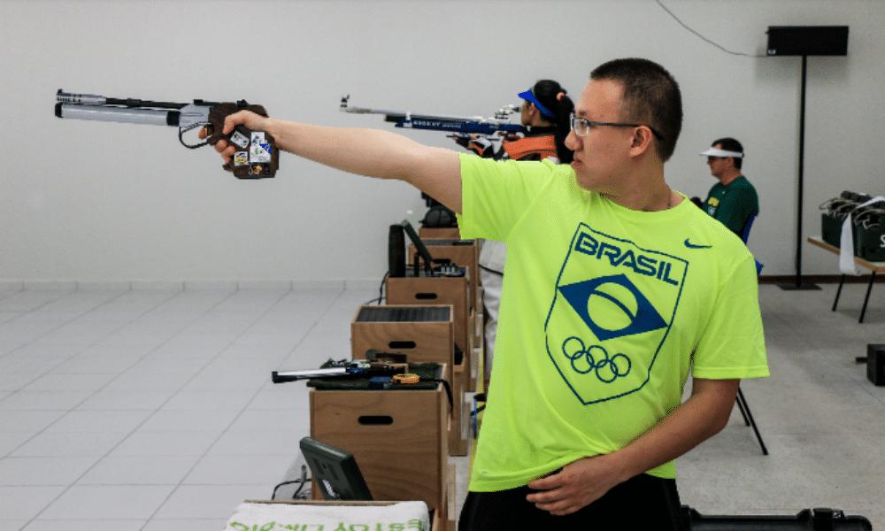 Felipe Wu tiro esportivo
