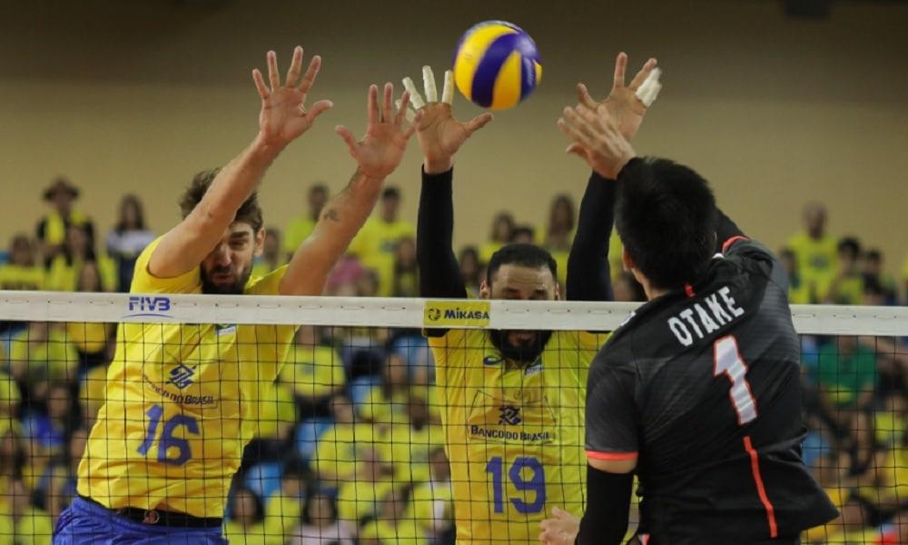 Brasil X Japão - Liga das Nações