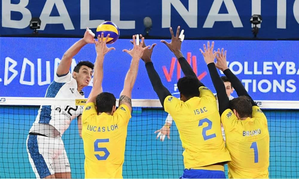 AO VIVO  Brasil x Argentina - Liga das Nações masculina 0c66a32006ad7