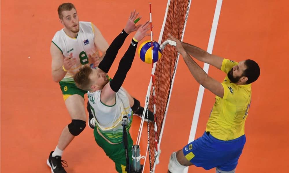 90c692222e AO VIVO  Brasil x Austrália - Liga das Nações masculina