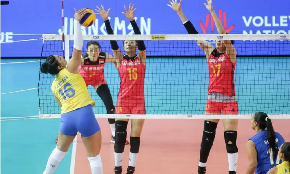 Brasil não vai bem mais uma vez e sofre derrota para a China por 3 sets a 0  na disputa pelo terceiro lugar. Com o resultado 4ee760abcfc5e