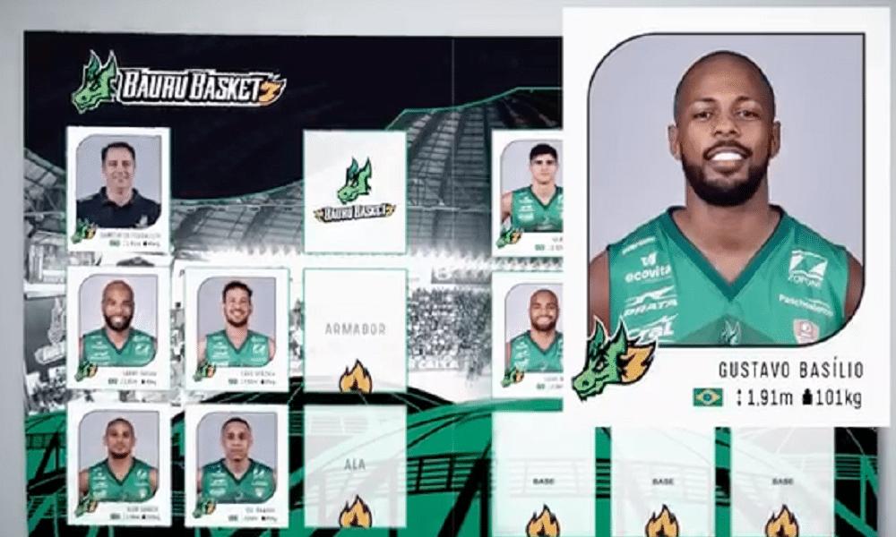Ala Gustavo Basílio é o novo reforço do Bauru Basket