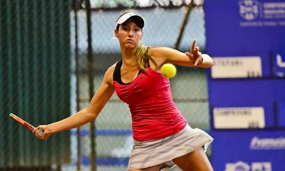 Brasileira Luisa Stefani é campeã nas duplas no ITF de Sumter
