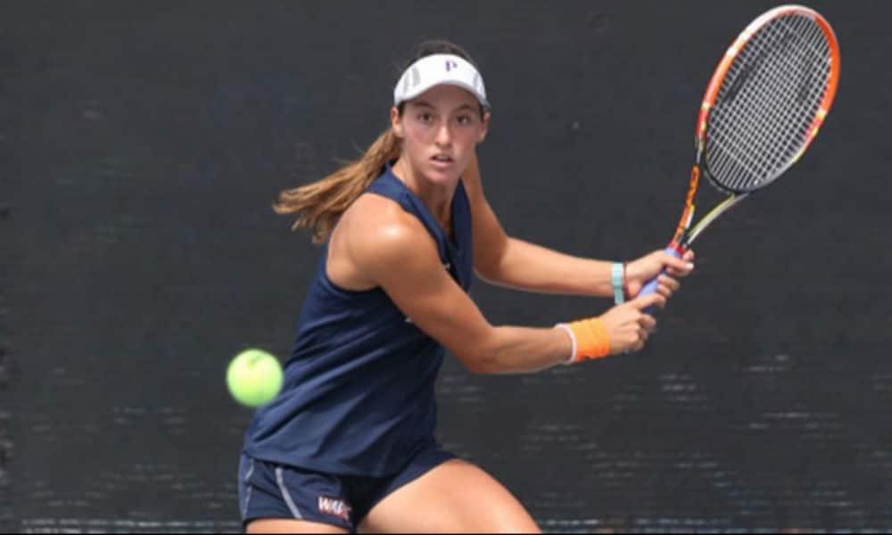 Luisa Stefani se garante na final de duplas do ITF de Sumter