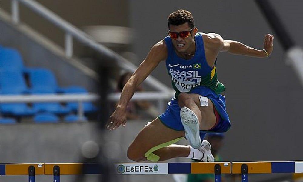 Márcio Telles vence os 400 m com barreiras em Estocolmo