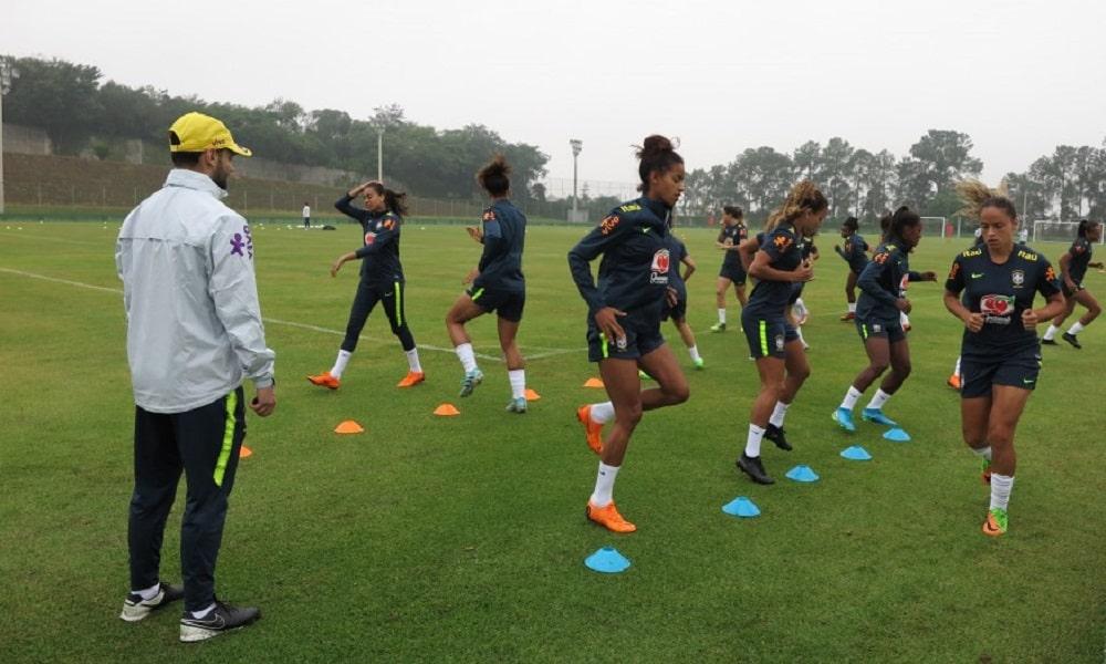 Em preparação para Torneio das Nações, Seleção treina em Itu