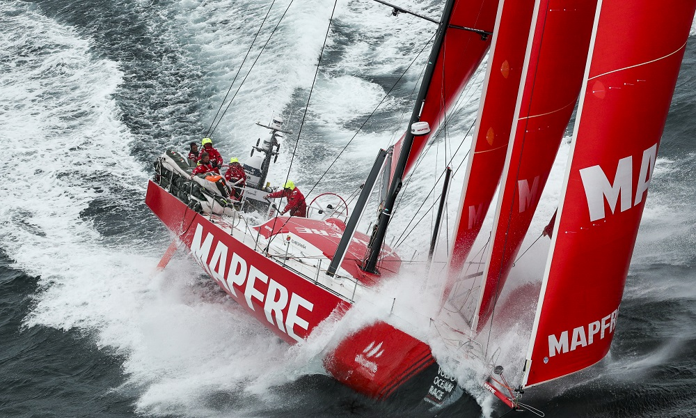 Penúltima etapa da Volvo Ocean Race se aproxima do fim