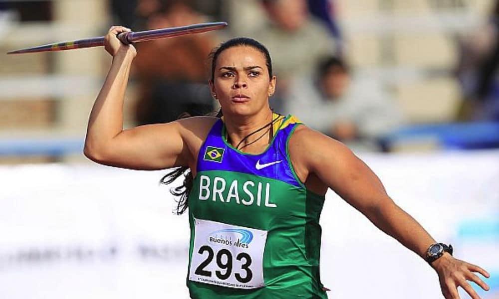 Laila Ferrer, do lançamento de dardo