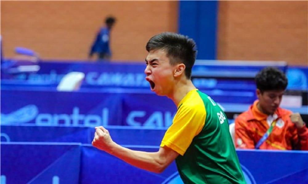 Vitor Ishiy - tênis de mesa masculino - equipe masculina Jogos Olímpicos de Tóquio 2020
