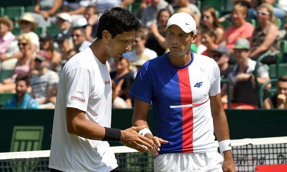 Chuva interrompe jogo de estreia de Melo e Kubot em Wimbledon