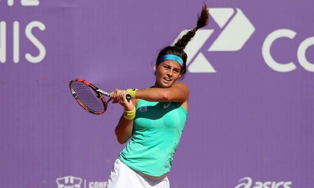 Carolina Meligeni cai nas qualificatórias do ITF de Versmold
