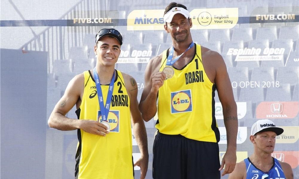 Ricardo e Guto ficam com a medalha de prata em Portugal