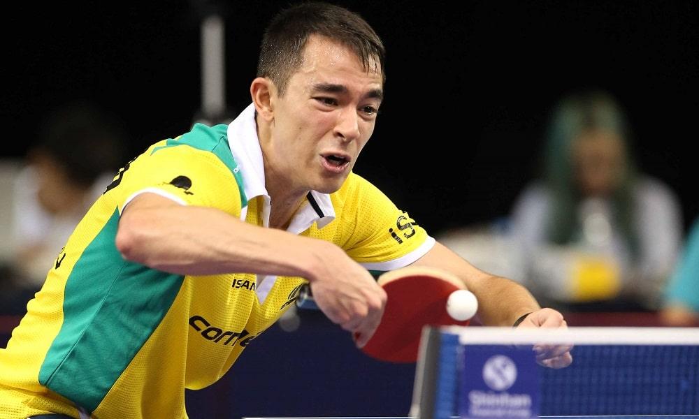 Hugo Calderano cai nas quartas do Aberto da Coreia do Sul