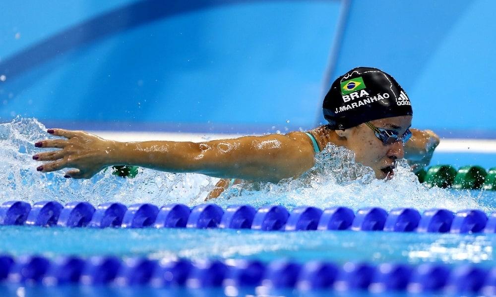 Joanna Maranhão comenta carreira e momento da natação no Brasil