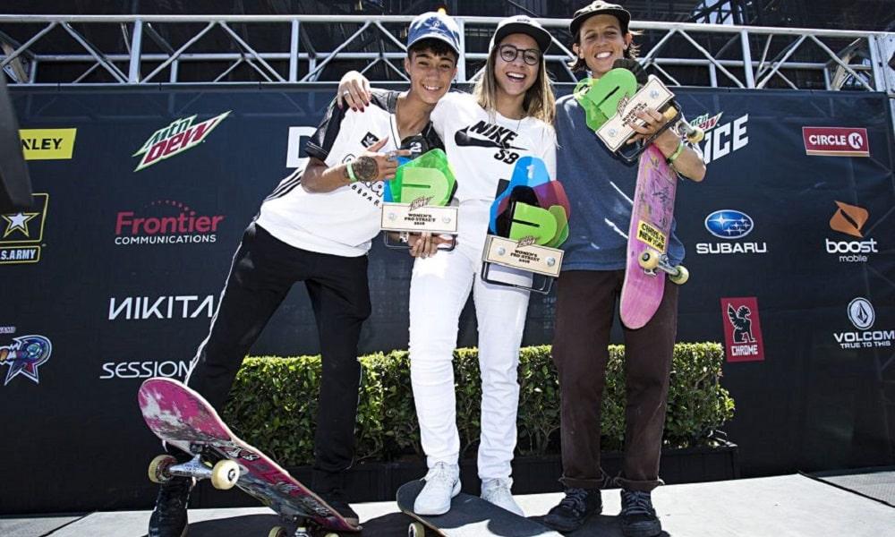 Brasileira Pâmela Rosa vence Dew Tour em Los Angeles