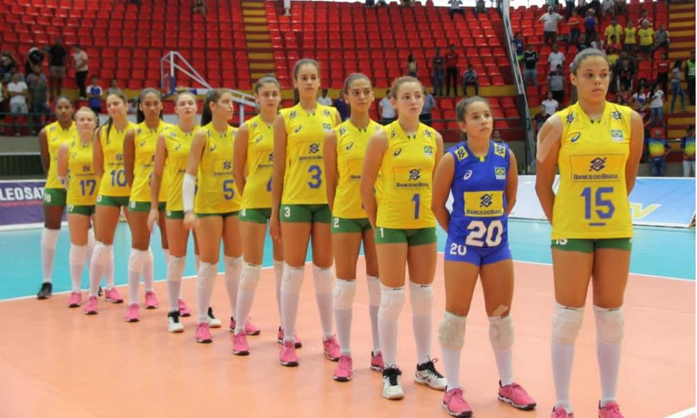 df9ee55ee073a Brasil bate o Chile e consegue 2ª vitória no Sul-Americano Sub-18 de ...