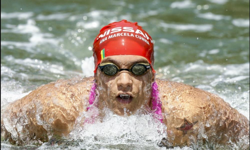 Ana Marcela Cunha, da Maratona Aquática