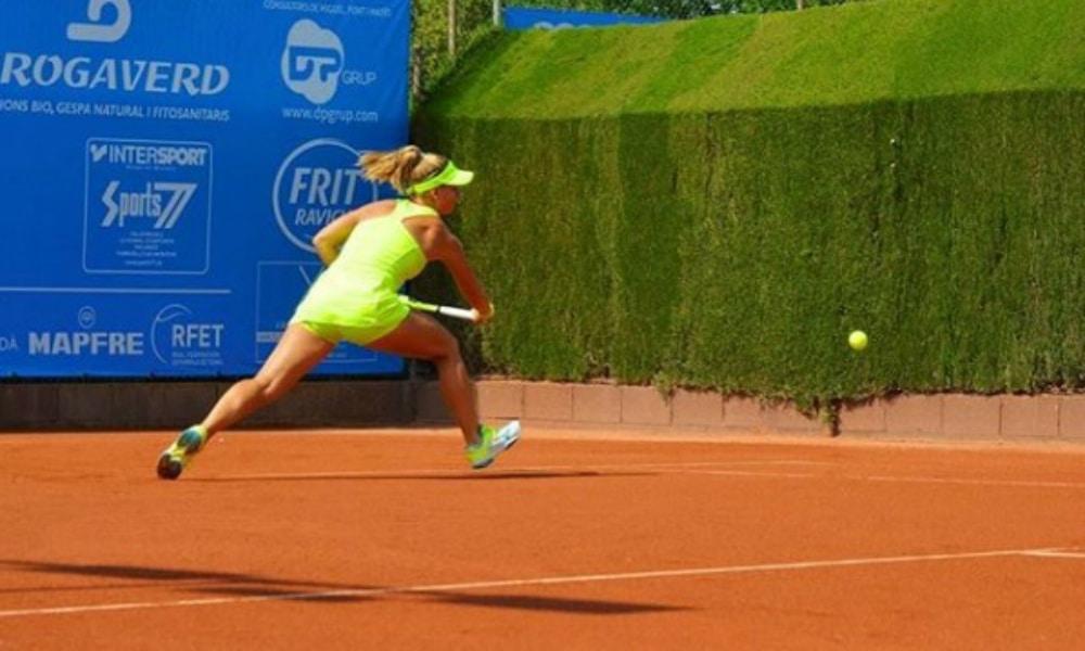 Laura Pigossi está fora do ITF de Biarritz, na França