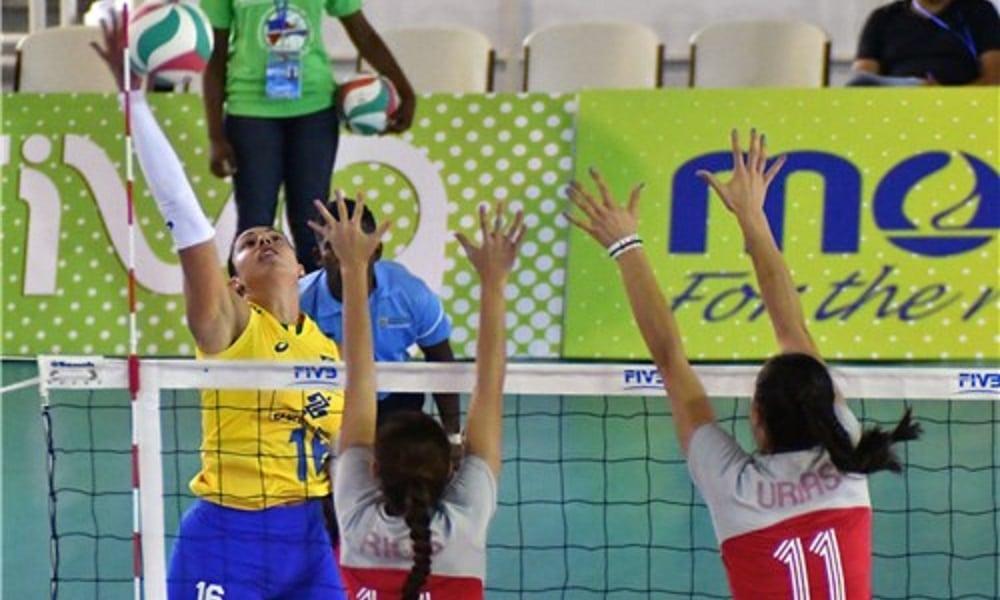 Colômbia X Brasil - Ao vivo - Copa Pan-Americana de vôlei feminino