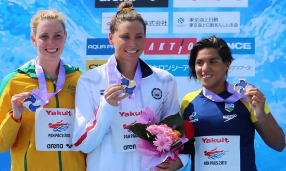 Ana Marcela Cunha conquista o bronze no Pan-Pacífico 7e6b53b7eca0a