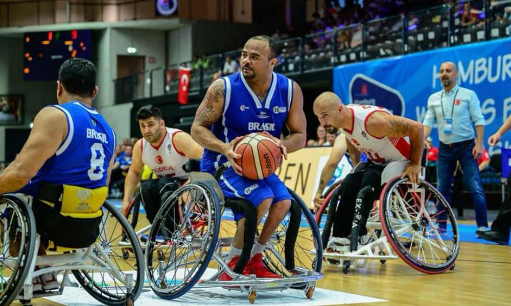 c7470075a Após derrota para Austrália nas oitavas de final, Brasil vai disputar o  nono lugar do Mundial de basquete em cadeira de rodas