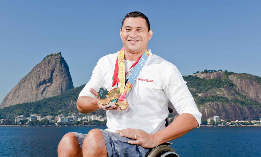 Clodoaldo Silva comenta evolução do esporte paralímpico no país