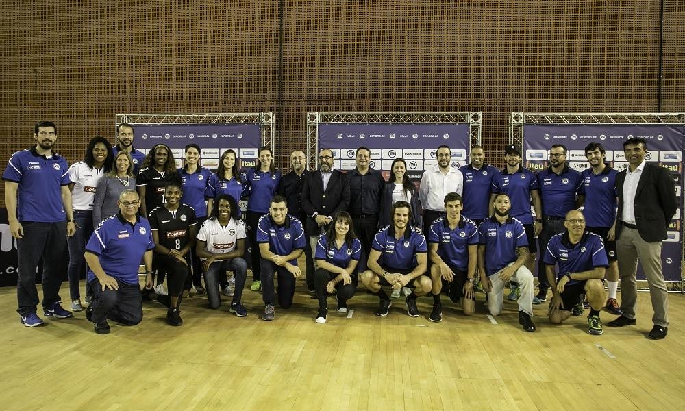 Pinheiros anuncia nova parceria para handebol, vôlei e basquete