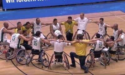 Brasil perde para Itália no Mundial de cadeira de rodas