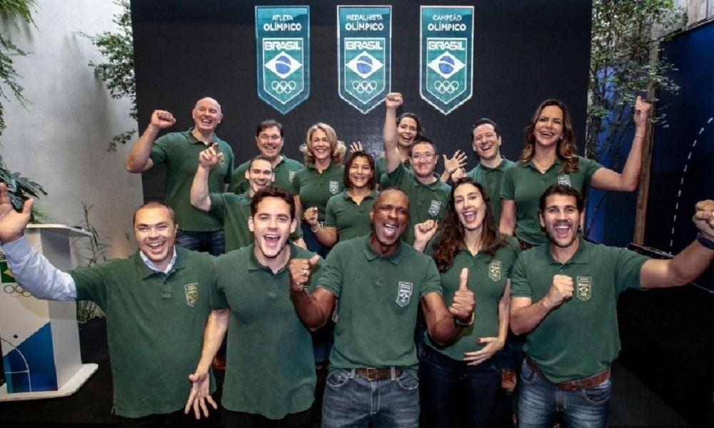 COB lança selo valorizando personagens do esporte nacional