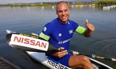 Caio Ribeiro é prata no Mundial de paracanoagem