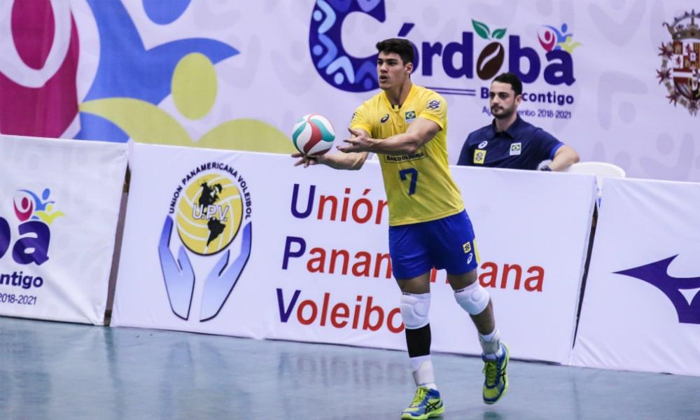 Brasil passa por cima da Colômbia na Copa Pan-Americana de vôlei 5fb173d640895