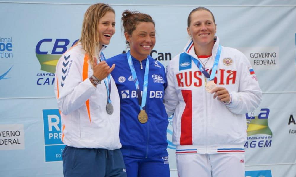 Ana Sátila faz história com ouro inédito no Mundial de canoagem slalom fa603ba5bf10b
