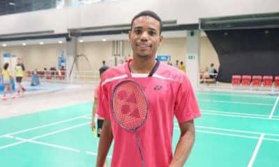 Arthur Pomoceno, brasileiro de badminton