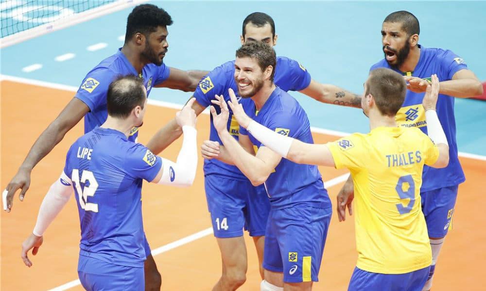 92a0fec63a Divulgação FIVB. Pela 2ª rodada da segunda fase do Campeonato Mundial  masculino de vôlei