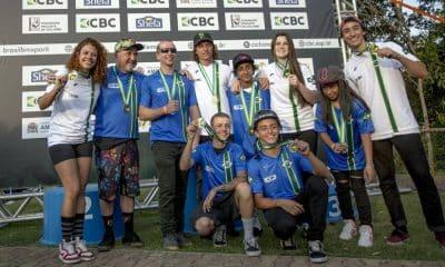 Leandro Overall e Derlayne Roque conquistam título do BMX Park