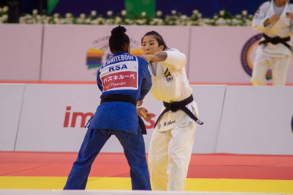 Gabriela Chibana ligeiro até 48kg Jogos Olímpicos de. Tóquio 2020 judô