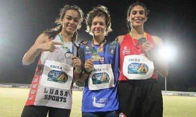 Gabriela Tardivo bate recorde no Campeonato Brasileiro Sub-16
