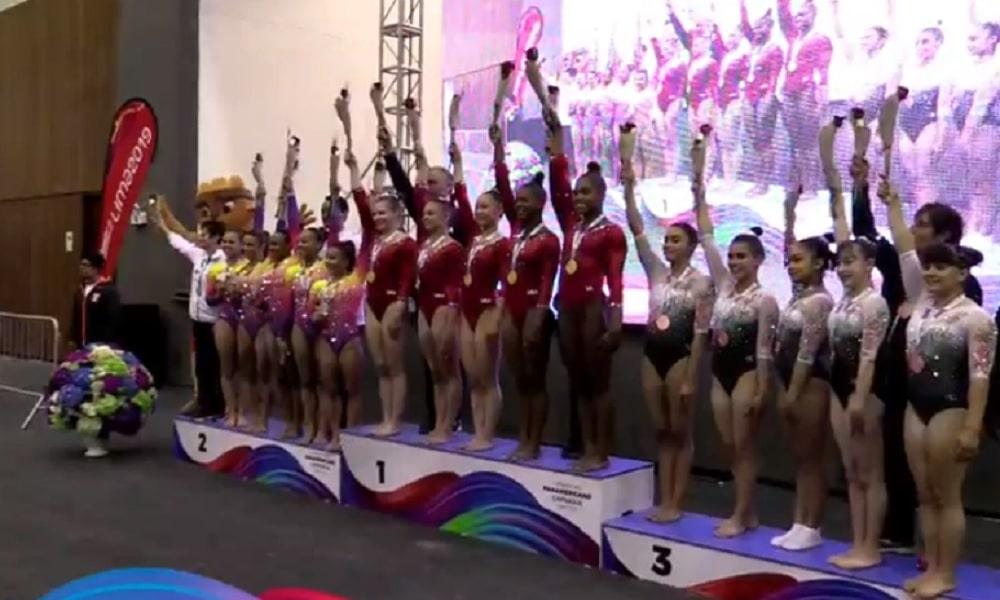 Brasil conquista prata e bronze nas finais por equipes do Pan